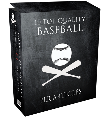 10 TOP QUALITY BASEBALL PLR ARTICLES